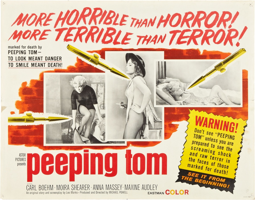 PEEPING TOM MOVIE 1960