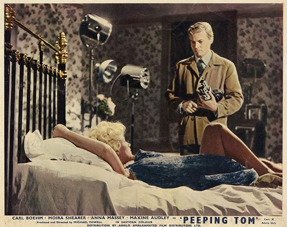 PEEPING TOM PAMEAL GREEN LOBBY CARD