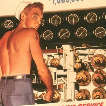 World War 2 Posters Prove Platonic Love Is Always Gay