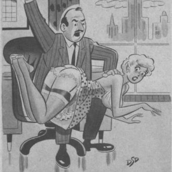 Sleazy cartoons of the 1950s and 1960s