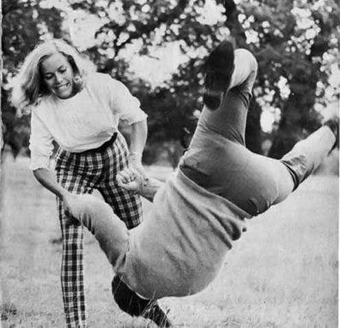 Honor Blackman martial arts