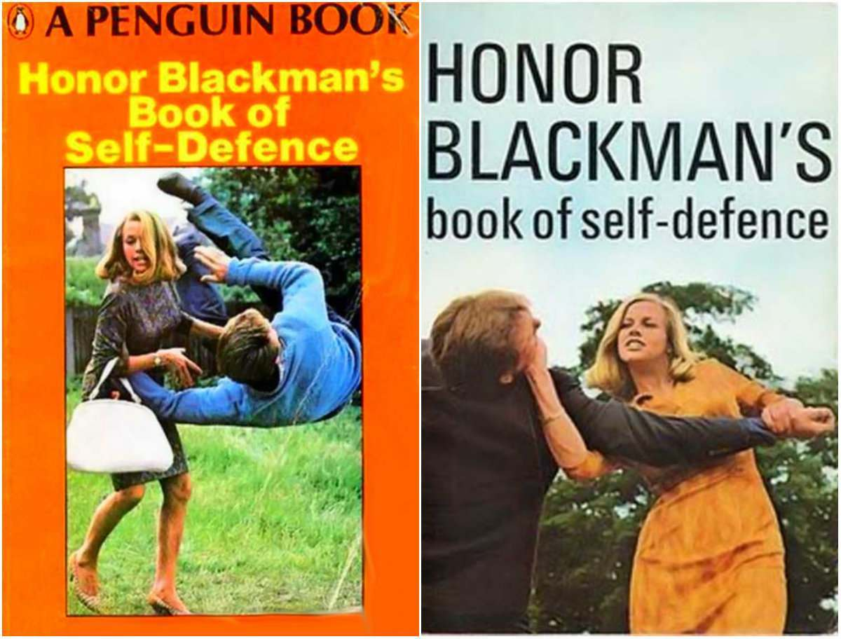 honor blackman book self defence