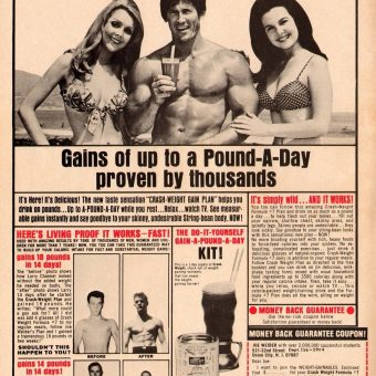 Flashback to 1969: put on weight the fun way