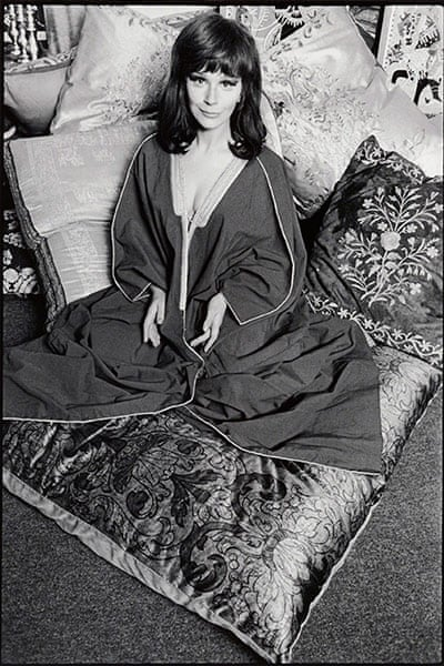 Fenella Fielding, 4 October 1966 Photograph- Peter Rand