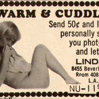 Sexy, odd and funny adverts found in 1960s porn magazines