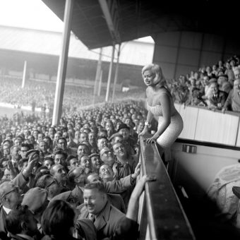 When Jayne Mansfield scored at Tottenham Hotspur