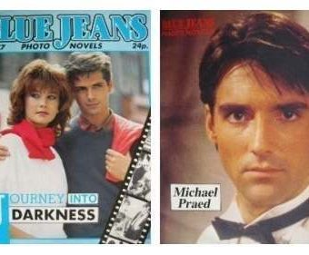 Blue Jeans magazine and naming those 1980s heartthrobs