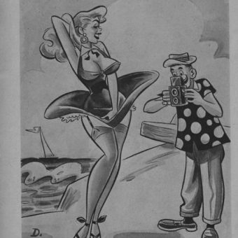 Smutty and sexist cartoons from the 1950s