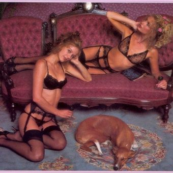 Victoria's Secret models of 1979 – comfort before sex and excited dogs