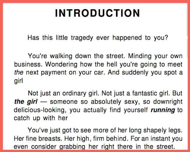 eric weber how to pick up girls summary