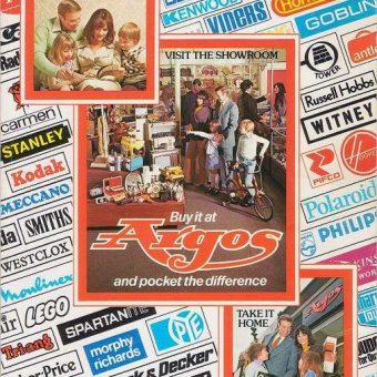 The Argos catalogue 1976 – featuring the After Eight mints silver-style Gun Carriage