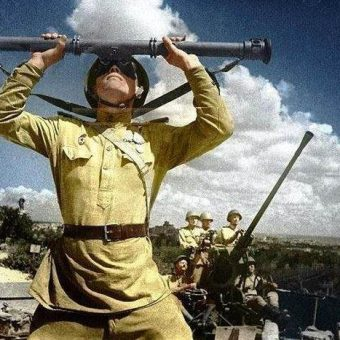 World War 2 in colour – The Russian experience