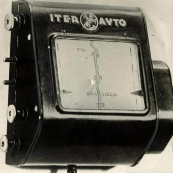 The Iter Avto was the world's first SatNav