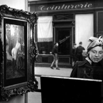 1948: A Naked Woman Shocks And Entertains In Paris
