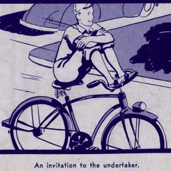 A Ride of Death – The scary 1940s cycling safety pamphlet