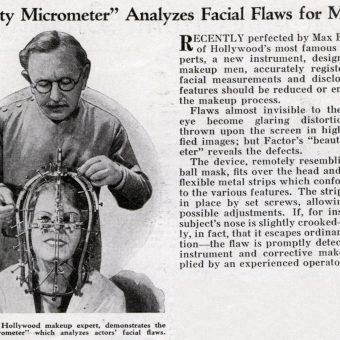 Max Factor showcases the Beauty Micrometer