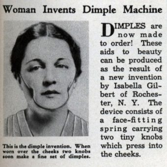 1936: Dimples are made to order