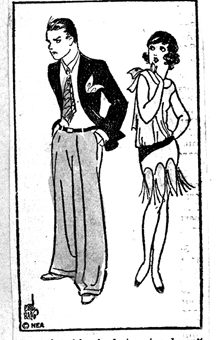 Flapper Fanny was the girl who always knew what to say