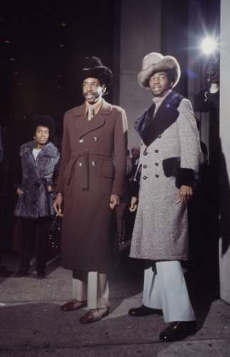 Muhammad Ali fans fashion New York 1970  Bonavena