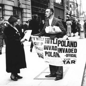 September 1 1939: Germany invades Poland