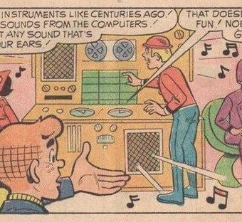 Comic book star Archie's 1972 vision of life in 2012