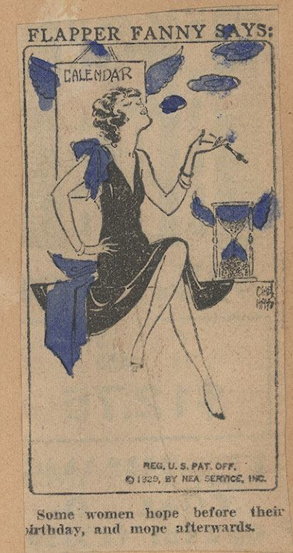 flapper fanny cartoon comic