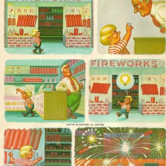 Mad Magazine 1968: Fireworks for Christmas