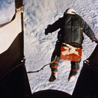 1960: Joseph W. Kittinger Jr leaps into the unknown