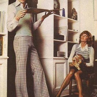 Men's fashion advertising – when Slax got the girl