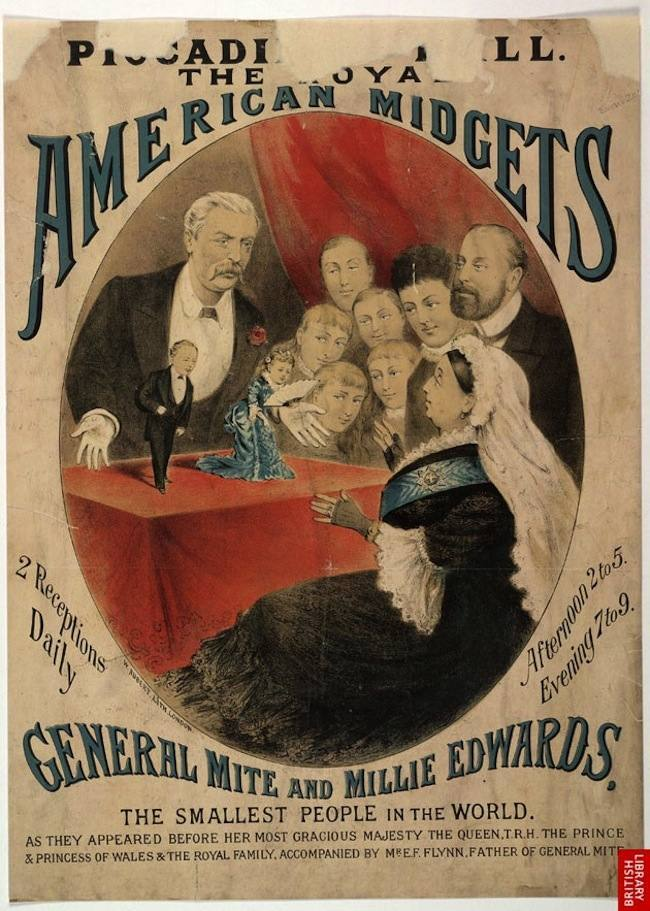 Highlights From The Victorian Circus Freak Show Posters