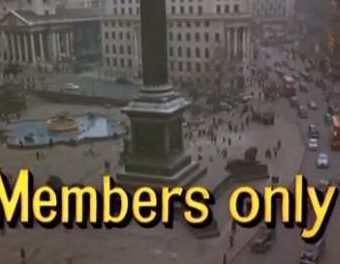 1965: A film on London's members' only clubs
