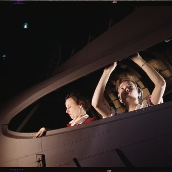 Women At War: Lush Kodachrome Photos Of Engineers At The Douglas Aircraft Company