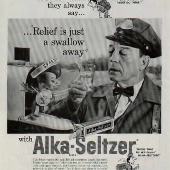 1978: have yourselves a Sammy Davis Christmas with Alka-Seltzer