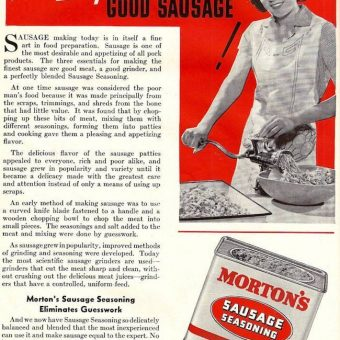 1941: Home Meat Curing Made Easy (with Pig FISTING)