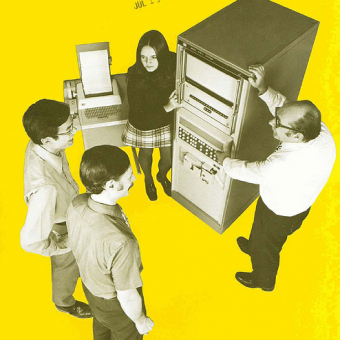 Sexist Computer Adverts In The 1960s, 1970s & 1980s