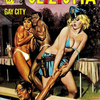 Covers of Sleazy Italian Adult Comic Books From the 1970s and 80s