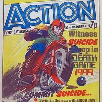1976: Action Comic makes Suicide Cool