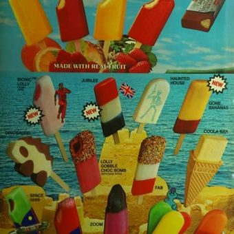1977: The Lyons Maid lolly and ice-cream poster (bring back Zooms)