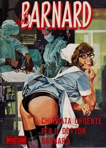 Covers of Italian Adult Comic Books From the 1970s and 80s