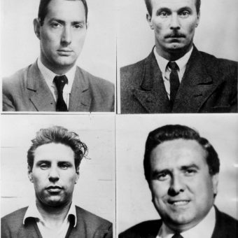 The 1963 Great Train Robbery in photos