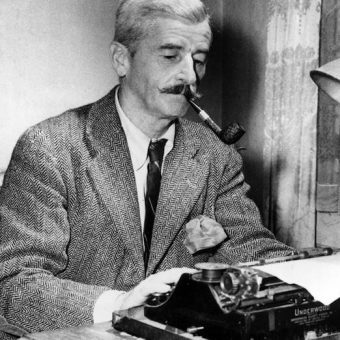 William Faulkner's Post Office regination letter and dream of working in a brothel