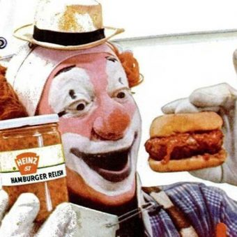 In the 1950s Heinz thought clowns would make pickles fun – they didn't (photos)