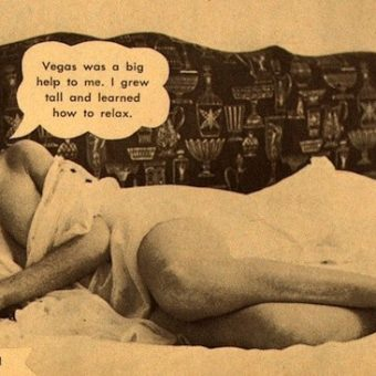 In 1959 Pose magazine let the pin-ups speak