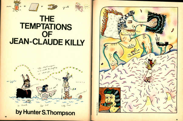 hunter s. Thompson scanlan's