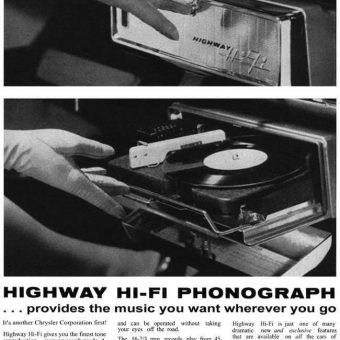 Highway Hi-Fit Phonograph