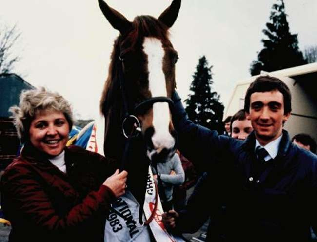 Grand National winner Corbiere