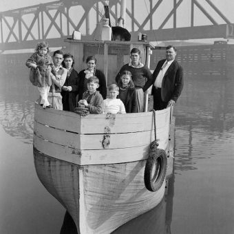 In pre-War America Paul Satko and his family sailed their Ark of Juneau from Virginia to Alaska