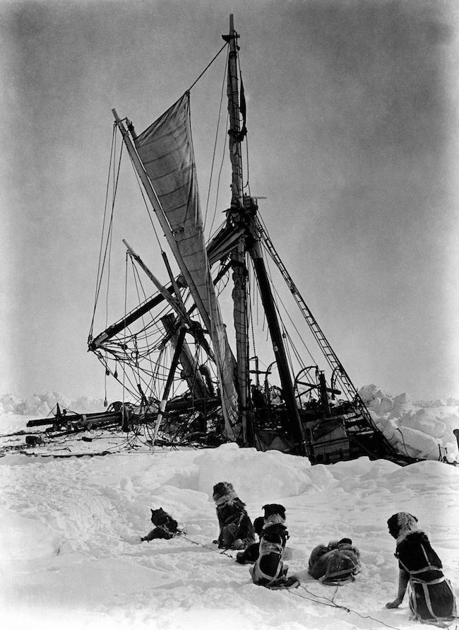 The Age of Exploration - The Polar Regions - The Shackleton Expedition - 1915