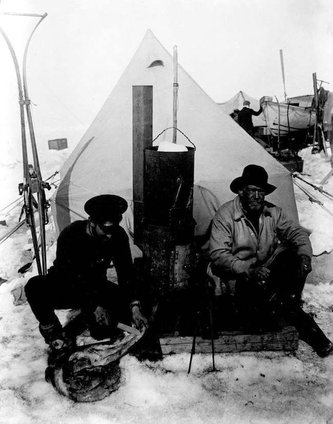 SHACKLETON EXPEDITION : PATIENCE CAMP
