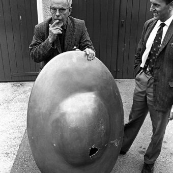 In 1967 five flying saucers landed in Somerset and across southern England